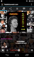Screenshot of RadioSouvenir.com