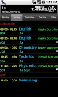 Screenshot of Student Timetable Helper