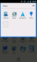 Screenshot of Blue Go Theme