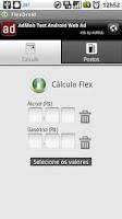 Screenshot of FlexDroid (calculadora flex)