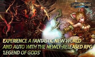 Screenshot of Legend of Gods