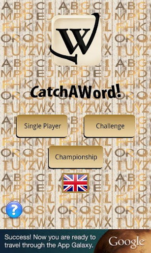 CatchaWord The Crossword Game
