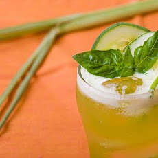 Cucumber-Basil Lemonade with Lemongrass