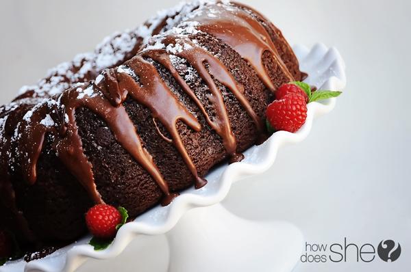 Triple Chocolate Bundt Cake Recipe | Yummly