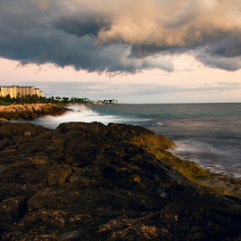 Ko Olina beach 2 by Leah Varney - Landscapes Beaches ( beaches, waterscape, waves, ocean, landscapes )