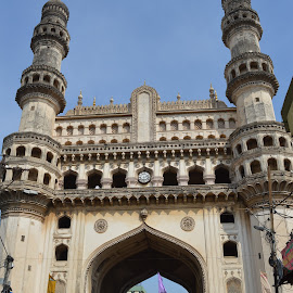 Hyderabad charminar by Prosenjit Malakar - Buildings & Architecture Statues & Monuments ( charminar monument of hyderabad, charminar monument, hyderabad, hyderabad charminar, charminar )