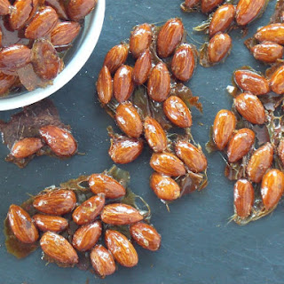 Roasted Almond Honey Clusters