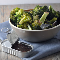 Roasted Broccoli with Anchovy Sauce