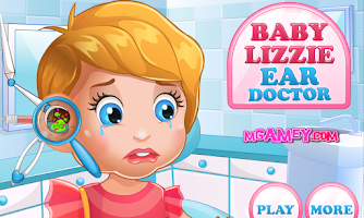 Screenshot of Baby Lizzie Ear Doctor