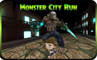 Screenshot of Monster City Run : Best Runner