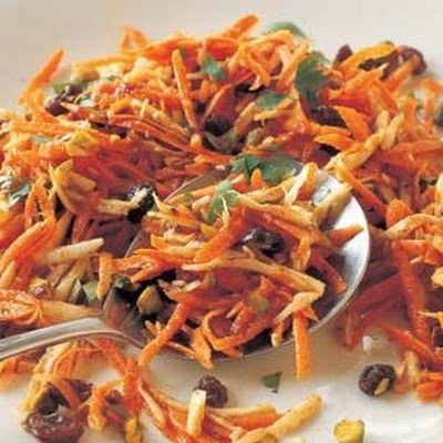 North African-Spiced Carrot and Parsnip Salad