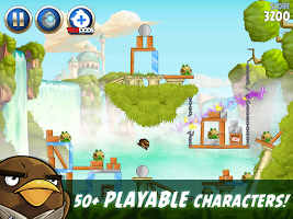 Screenshot of Angry Birds Star Wars II