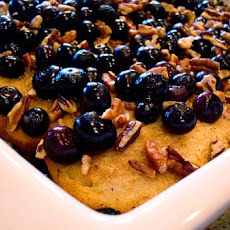 Baked Blueberry Pecan French Toast