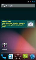 Screenshot of Owner Info Widget