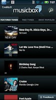 Screenshot of Music Box Ringtones