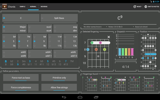 Chord! (Guitar Chord Finder) for Android - Version 3.2 | Free ...