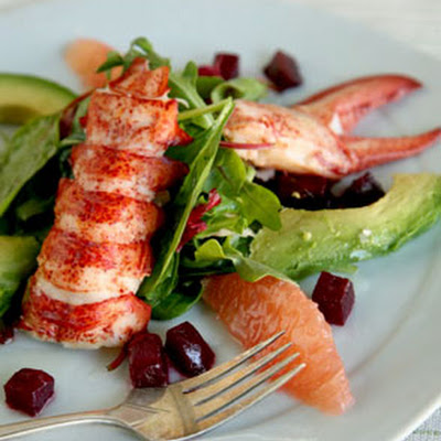 Lobster and Avocado Salad