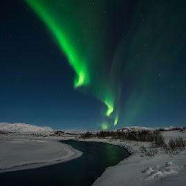 nature's wonders by Viktoras Kaubrys - Landscapes Weather ( national park, iceland, winter, snow, northern lights )