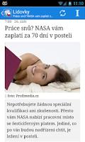 Screenshot of Česko Zprávy