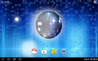 Screenshot of Disco Ball Live Wallpaper