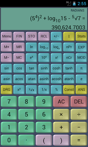Financial Calculator (ad) - screenshot