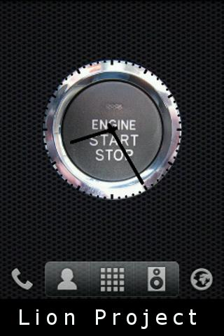 Startbutton clock