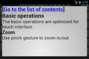 Screenshot of Simplector