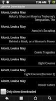 Screenshot of LibriVox Downloader