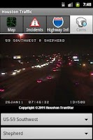 Screenshot of Houston Traffic