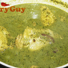 Coriander and Coconut Chicken Curry