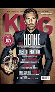 King Magazine Sverige - screenshot