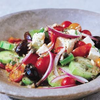 Greek Salad Cherry Tomatoes Recipes
