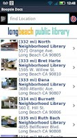 Screenshot of LBPL Mobile