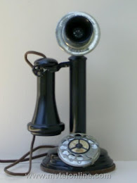 Candlestick Phones - AE Stairstep Base (A) Candlestick Telephone 1