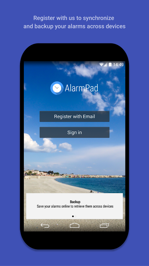AlarmPad - Alarm clock PRO Screenshot 6