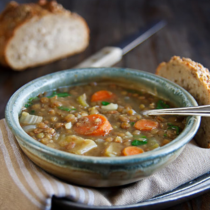 Lentil Soup with Coriander and Cumin Recipe | Yummly