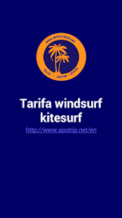 Tarifa windsurf & kitesurf - screenshot