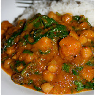 Butternut Squash Chickpeas Spinach Recipes