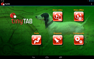 Screenshot of TinyTAB Hunting Maps