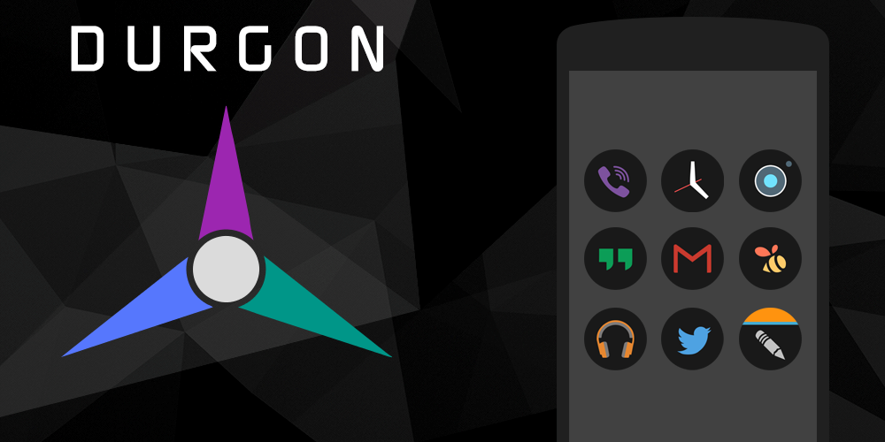 Durgon - Icon Pack Screenshot 8