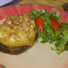 Spicy Stuffed Acorn Squash
