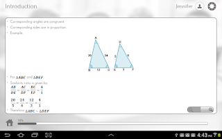 Screenshot of Learn Trigonometry