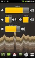Screenshot of Volume Control Widget