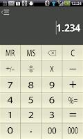 Screenshot of Fusion financial Calculator