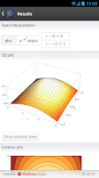 Screenshot of Multivariable Calculus App