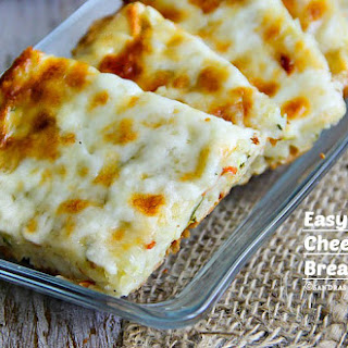 Easy Potato and Cheese Flat Bread