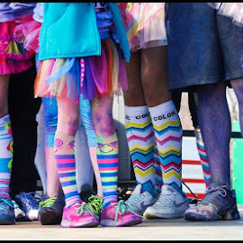 Rainbow Legs by Ashley Rodriguez - People Street & Candids