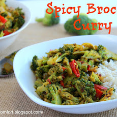 Spicy Broccoli Curry