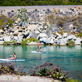 IT looks like nice water but it's a drainage canal by Angelo Perrino - Sports & Fitness Watersports