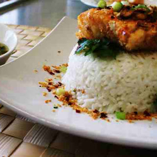 Baked Thai Fish with Coconut Rice
